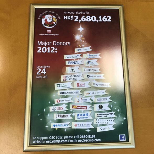 Operation Santa Claus (OSC) 2012