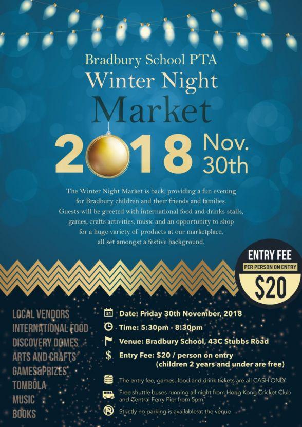 ESF Bradbury Winter Night Market 2018