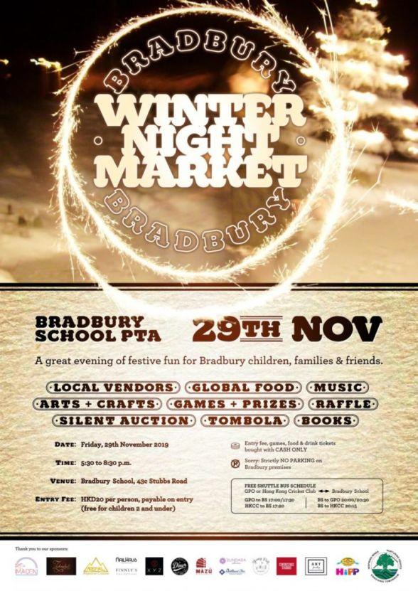 ESF Bradbury Winter Night Market 2019